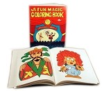Fun Magic Coloring Book (3 Way) by Royal Magic
