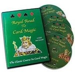 Royal Road To Card Magic 4 DVD Set