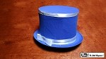 Collapsible Top Hat (Blue) by Mr. Magic